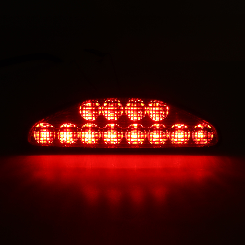 KEMIMOTO ATV UTV Rear Tailight Tail Signature Light Brake Lamp Black For Honda TRX 250 300 400 500 700 2005-2017 2006 2009 2010