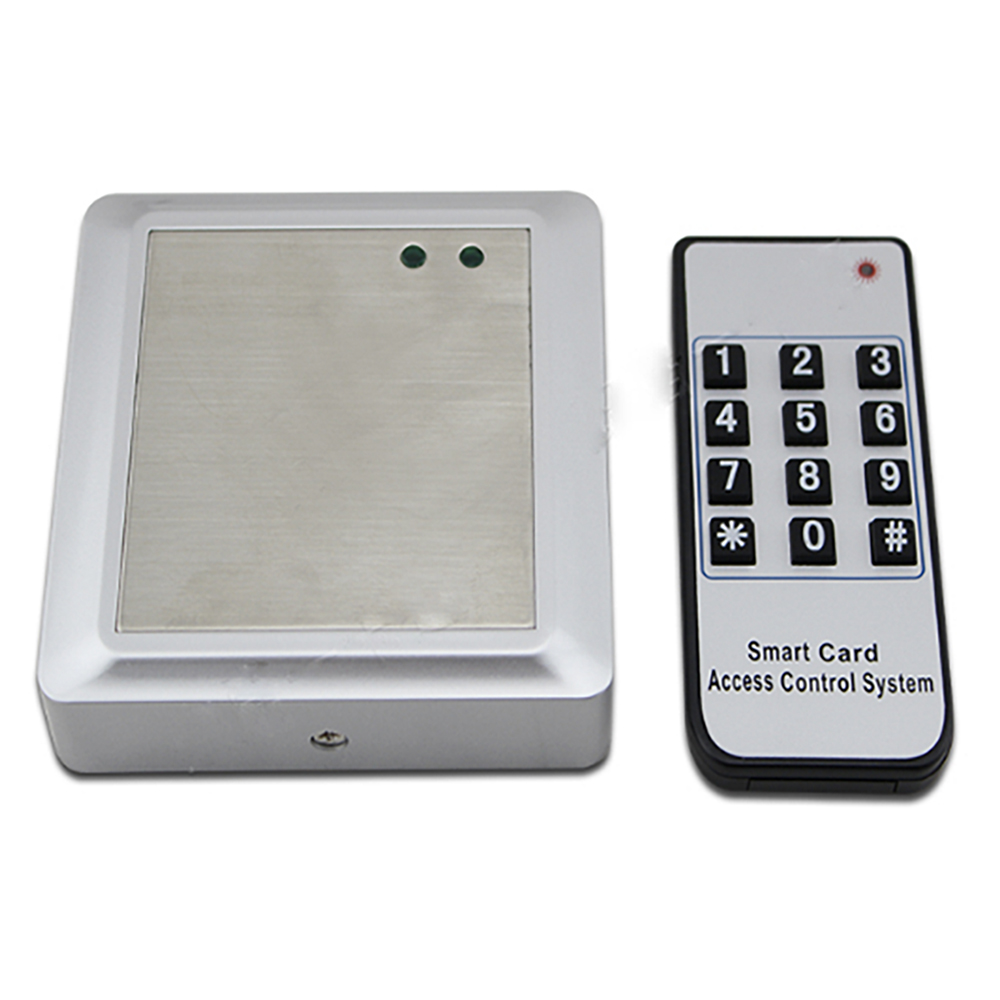 Waterproof Outdoor Use 125KHz RFID EM ID Card Single Door Remote Access Control Syetem Controller with 10 Keyfobs купить