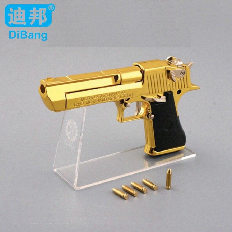 Golden Desert Eagle Toy Foam Dart Gun | Backyard Blasters