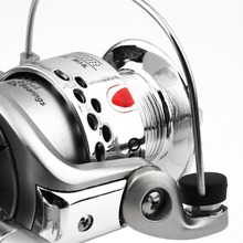 2017 HOT! 6BB Ball Bearings Left/Right Fishing Reel Interchangeable Collapsible Handle Fishing Spinning Reel SG3000 5.1:1