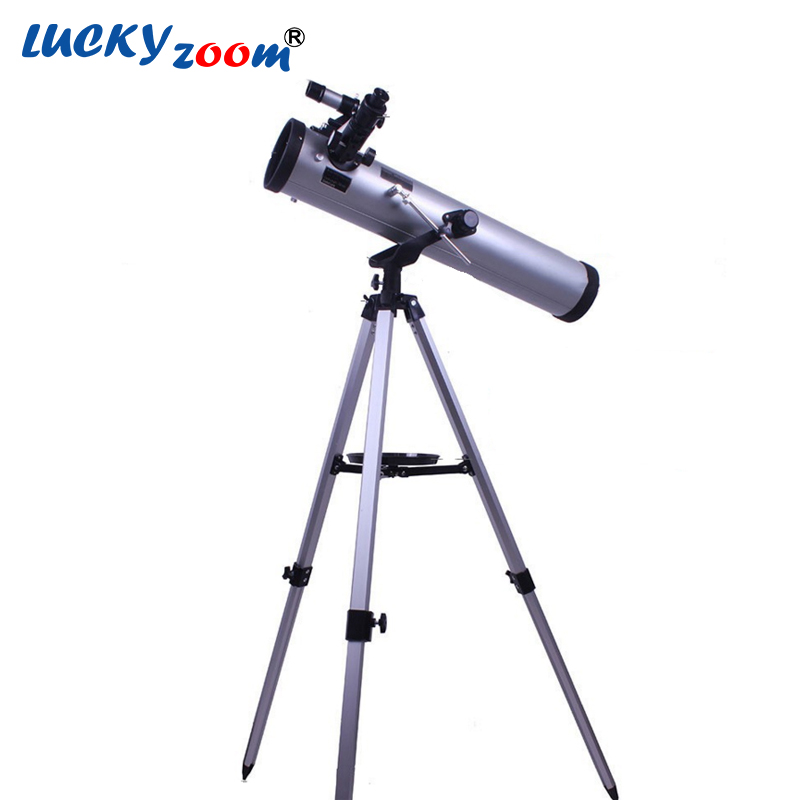 Luckyzoom High Quality 350 Times Zooming Reflective Astronomical Telescope for Space Celestial Heavenly Body Observation F76700 бп atx 600 вт exegate atx 600npx