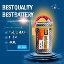 ZOP Lipo Batterie 11.1 V 3 S 40C XT60/T Plug 1500 Mah Pour Voiture RC Hélicoptères Drone Quadcopter pièces WLtoys V950