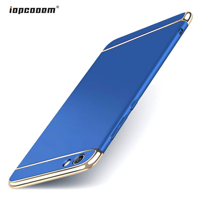 innovative design fa40c a9eb0 US $3.2 27% OFF|Vivo Y83 Case Cover Luxury 3 in 1 PC Hard Protection Back  Cover for Vivo Y83 Phone Cases Y 83 Coque Capas 6.22 inch-in Half-wrapped  ...