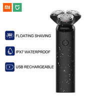 Xiaomi Electric Shaver Mijia Razor Shaving Machine for Men Dry Wet Beard Trimmer Rechargeable Turbo Mode Main Sub Dual Blade ES3