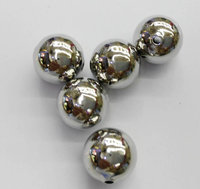 Top Quality 100pcs 2 12mm 14K Gold Smooth Round Spacer Beads Solid Silver Antique Silver Gold