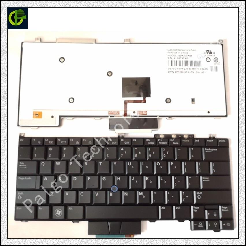 English Backlit Keyboard for DELL Latitude PP13S E4300 KR737 0KR737 NSK-DG101 0NU963 DG00G NU962 Laptop US Standard