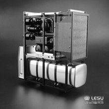Equipamentos Pesados de Metal Prateleira 1/14 Tamiya LESU Bz Modelo RC Modelo de Caminhão Trator Peças Atualizado