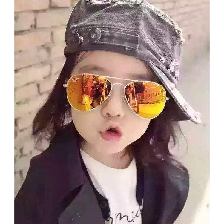 441906ed57 Curtain Baby Boy Girl Kid Sunglass Vintage cat eye Sunglass Child 100%UV  Protection goggle sunglass Oculos De Sol kid girl Gafas