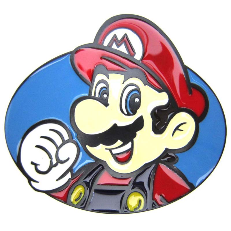 Super Mario Bros Nintendo Classic Belt Buckle