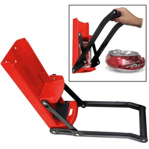 Image 1 - Bottle Opener Beer Tin Can Crusher With Grip Handle Wall Mounted Recycling Tool Environmentally Friendly Coke Bottle Flattening