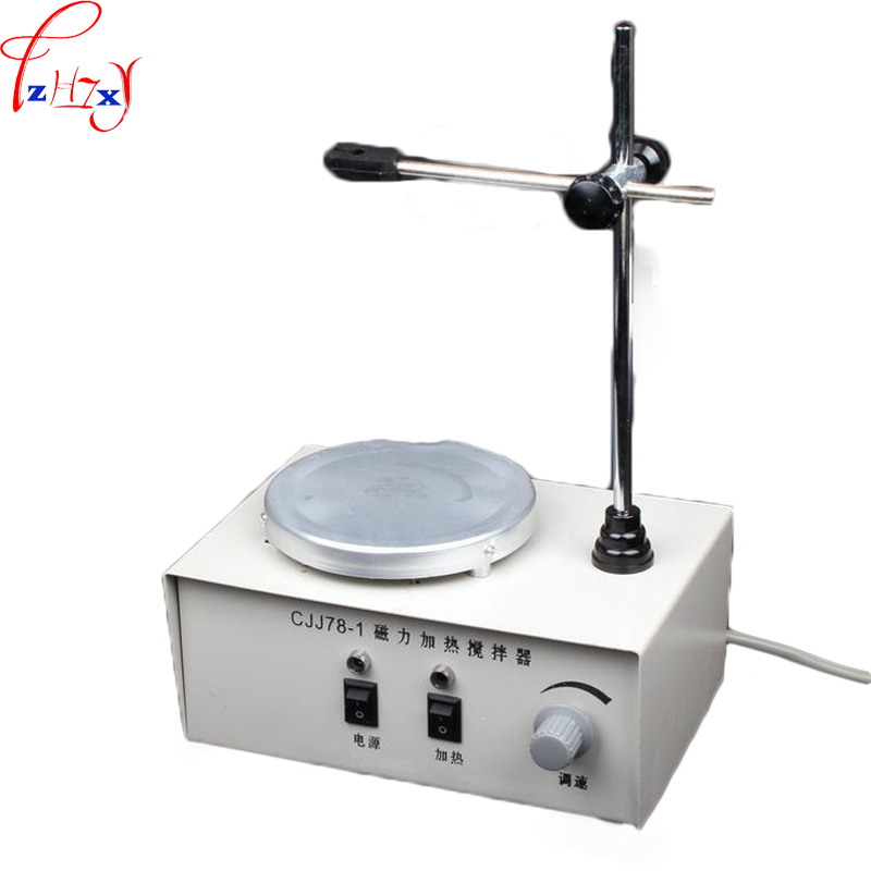 Desktop heat the magnetic stirrer CJJ78-1 magnetic heating agitator laboratory tool equipment  220V 2017 new magnetic stirrer with heating for industry agriculture health and medicine scientific research and college labs