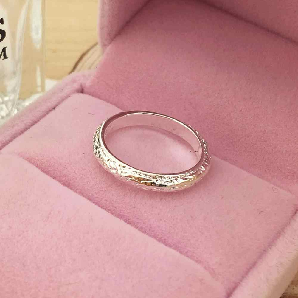 Wedding Rings Anel Limited Rushed Unisex Metal Party Trendy Geometric Anillos Jewelry Rings Band Scrub Plated Ring Love Promise