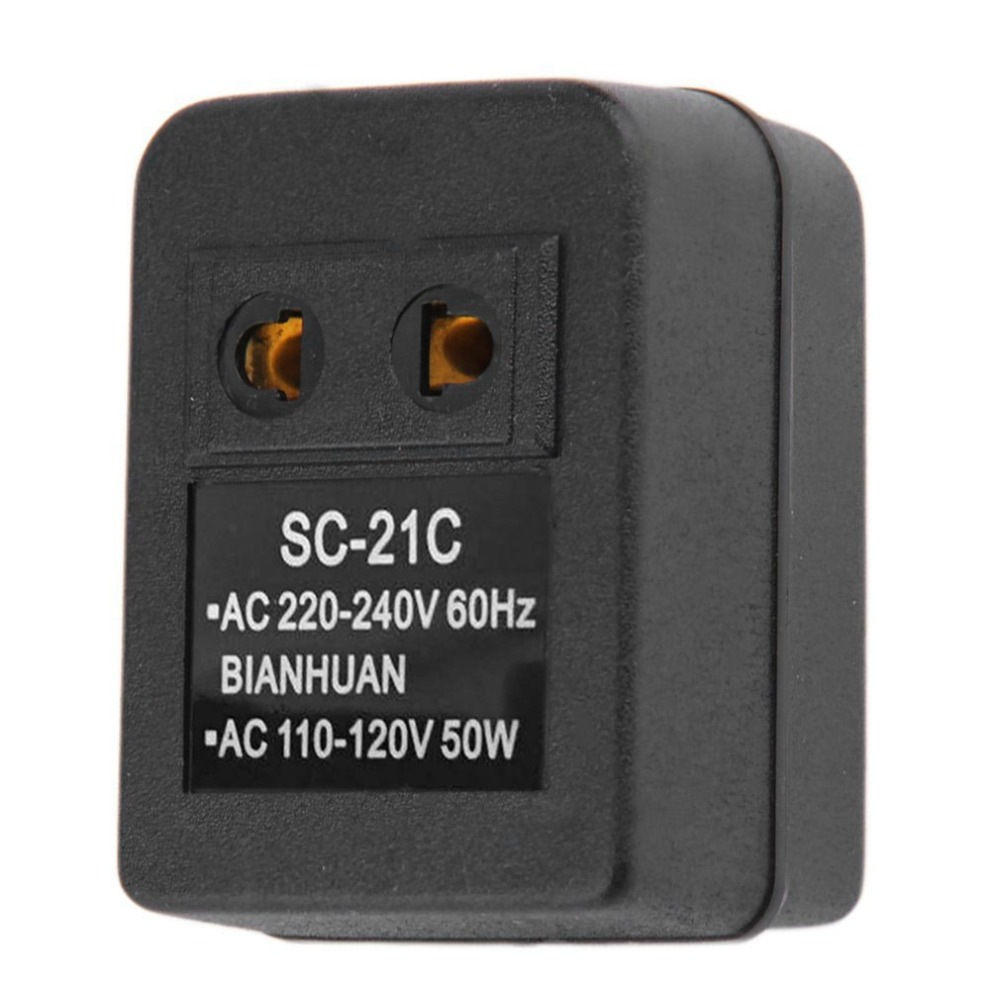 Travel Charge Power EU Plug Wall AC Adapter 20W 110V to 220V Voltage Transformer Converter Adapter Conversion Socket Charger
