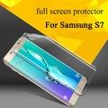 2 PCS Macio Nano Anti Choque Escudo Ultrastrong Anti-Explosão Protetor de Tela Película Protetora para Samsung Galaxy S7/S7 Borda