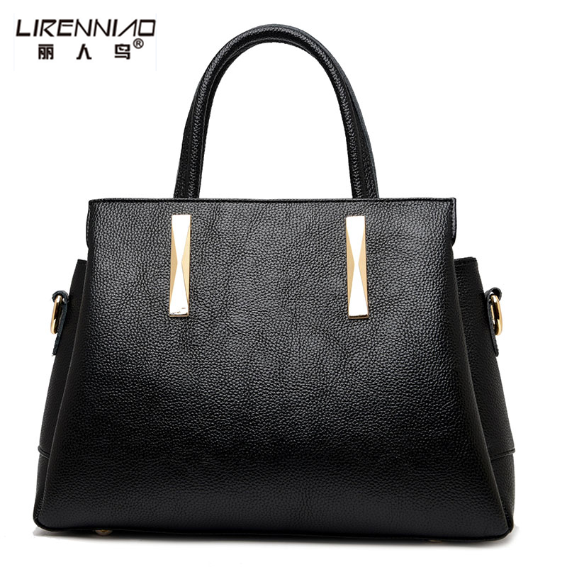 LIRENNIAO Brand 2017 Fashion Women Bags Leather Handbags Casual Tote Crossbody Bag Sequined Sac A Main Femme De Marque Luxe Cuir 2016 famous designer brand bags women leather purses and handbags sac a main femme de marque luxe women tote bag shoulder bags