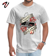 Mens T Shirt Gamer For Life Casual Tops Portal Crew Neck Rick And Morty Sleeve Design TShirt Labor Day Drop Shipping