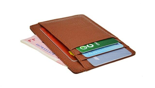 100% Cowhide Genuine Leather Wide Plus Long Card Holder Litchy Grain 9 Slots Money Pocket Slim Card Case Custom NAME LOGO