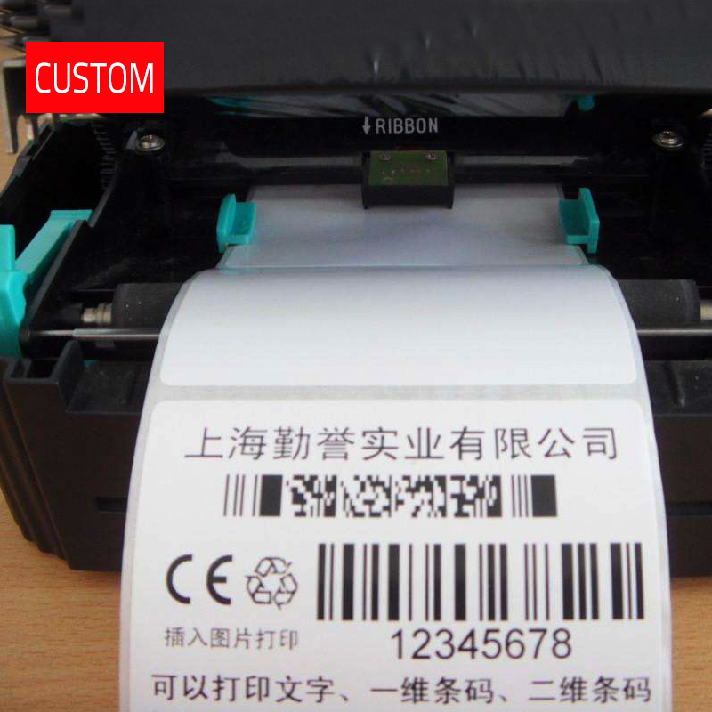 Custom Thermal Printing Washing Labels Customized Own Name