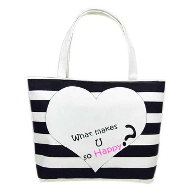 Hot Sale Women Canvas Handbag Fashion Large Capacity Anchor Pattern Shoulder Bags Casual Beach Bags Daily Shopping Bags