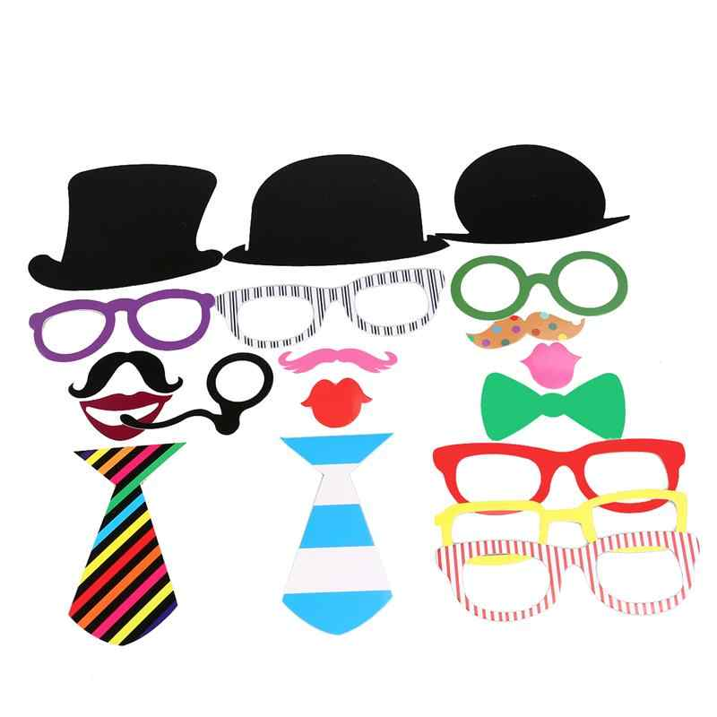 Detail Feedback Questions About 62pcs Photo Booth Props Diymustache