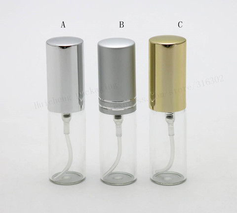 50x5 ml frasco de perfume vidro