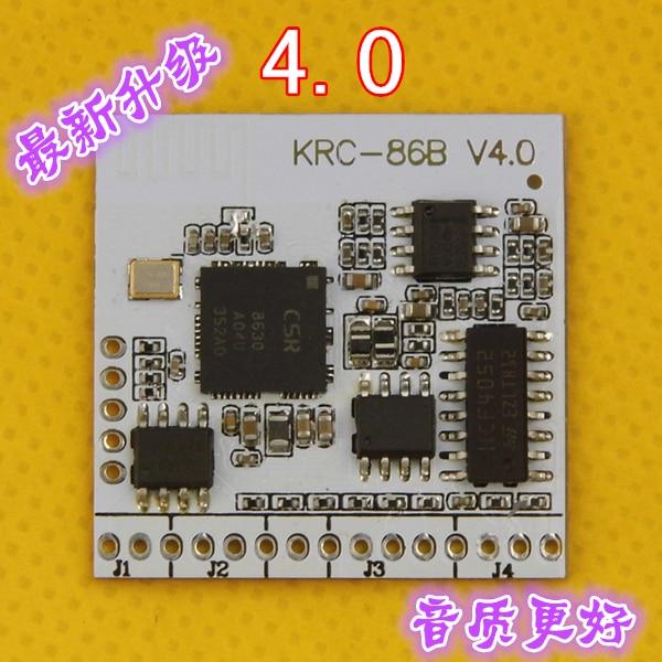 Bluetooth 4 stereo audio receiver module / wireless speaker amplifier modified DIY module KRC-86B jf 0718m diy replacement speaker parts stereo audio amplifier module green white black