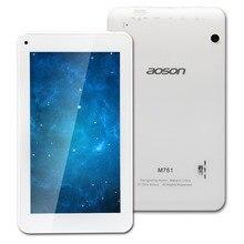 Quanlity estable Aoson M751S 7 pulgadas Tablet PC Quad Core Allwinner A33 512 M/8G Cámaras Duales del Androide 4.4 3G de la Tableta Del Envío gratis