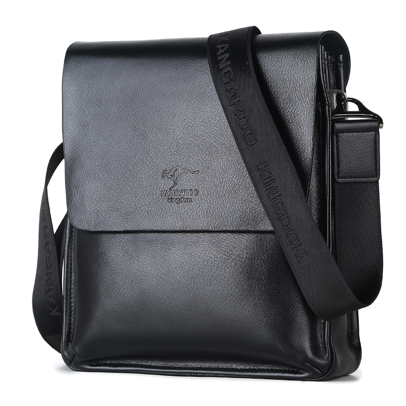 Kangaroo Kingdom Famous Brand Men Bag Leather Mens Messenger Bags One Shoulder Crossbody In From Luggage On Aliexpress
