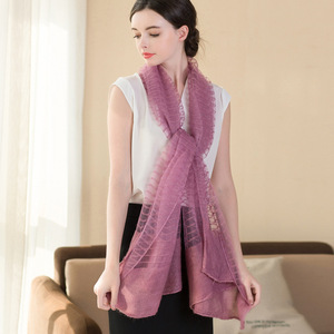 Womens Real Silk Hijabs Fashion Scarf Hijabs Comfortable Breathable High Quality Scarfs Women Scarf 196cm Length