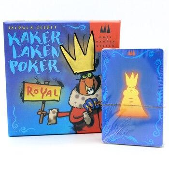 גרסה חדשה מצחיק משחק קלפי פוקר Kakerlaken מקק רויאל משחק לוח מתאים מאוד למסיבה המשפחתית מקורה שולחן משחק