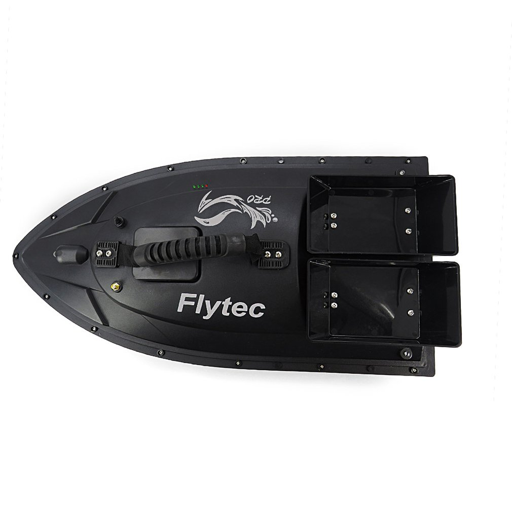Flytec v500 50cm isca de pesca rc barco 500 m remoto inventor de peixes 5.4 km/h 2-24h usando o tempo duplo motor brinquedo ao ar livre com transmissor