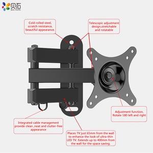 Image 5 - Đa năng Có Thể Điều Chỉnh TIVI giá Treo Tường Đa Năng Xoay Giá Đỡ TIVI Ốp cho 14 đến 32 Inch LED Phẳng bảng điều khiển