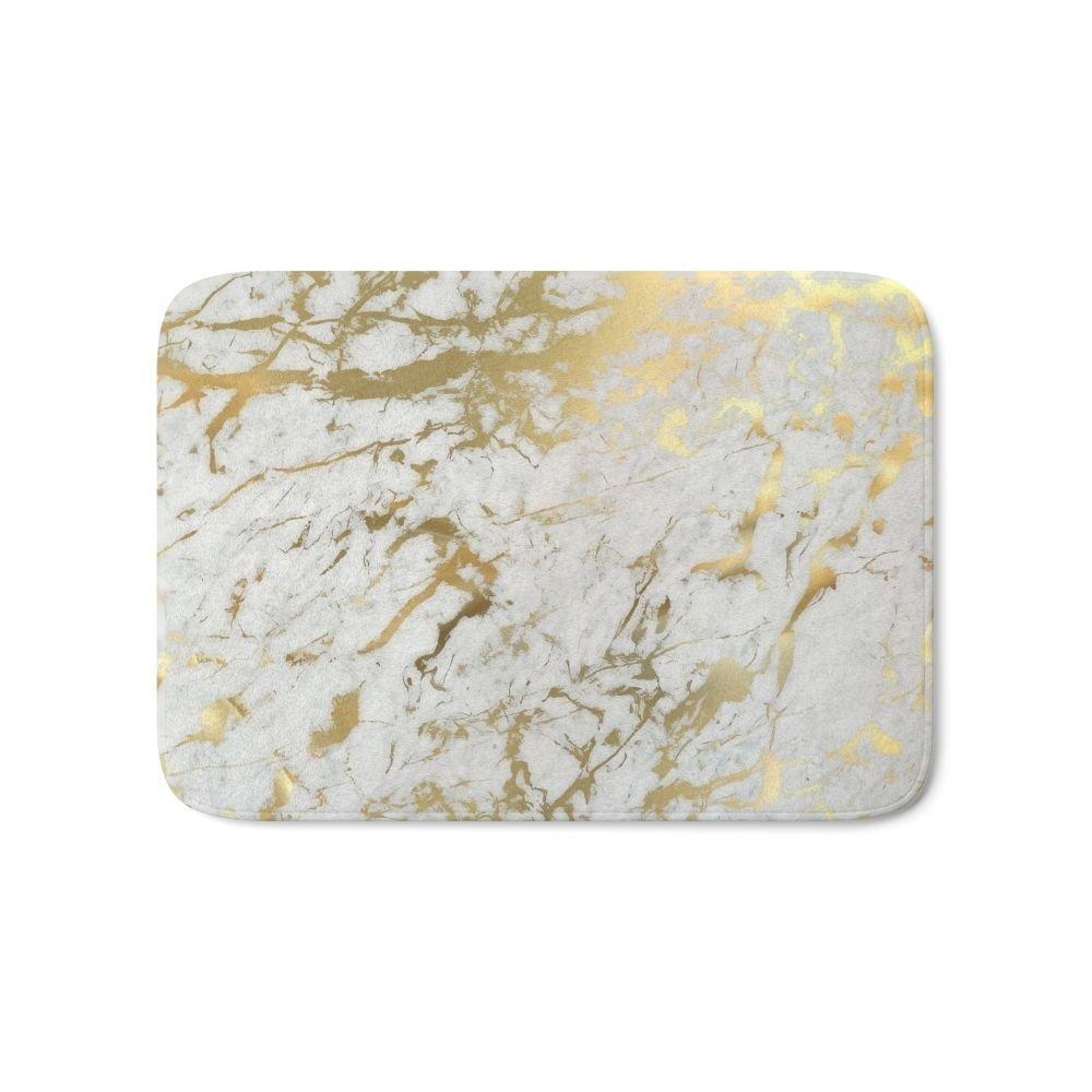 Aliexpress.com : Buy Gold Marble Bath Mat Entrance Door Mat Bathroom Kitchen Carpets Doormats