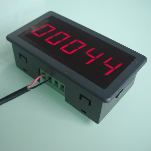 12V production line assembly line electronic counter, digital display punch lathe counter, big size big screen 5 seismic design of electronic counter punch rotating magnetic inductive proximity switches