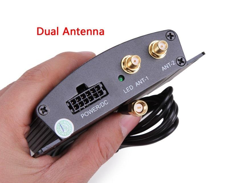 High Speed HD Car TV Tuner Mobile DVB-T2 Digital TV Receiver Box Dual antennas for Russia Hotaudio Dasaita