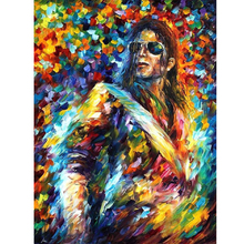 Hand Painted Landscape Abstract Michael Jackson Palette Knife Modern Oil Painting Canvas Art Living Room hallway Artwork Fine