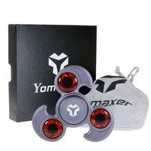Yomaxerอยู่ไม่สุขปินเนอร์นกแก้วZinicอัลลอยด์ไฮบริดSi3N4 608แบริ่งเซรามิกEDCของเล่นมือปั่นสำหรับออทิสติกและสมาธิสั้นเด็ก/ผู้ใหญ่