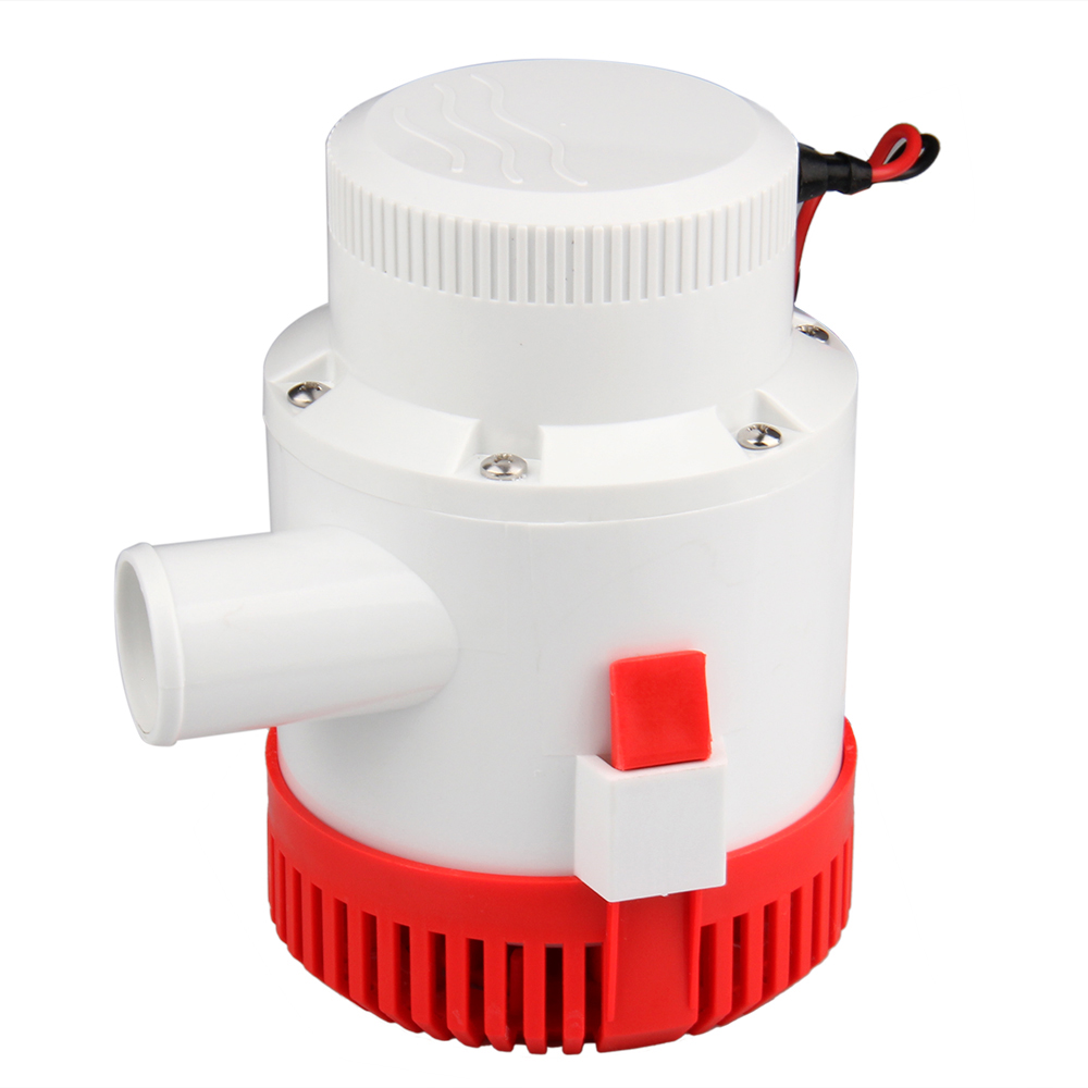 CarBole New 12V DC Submersible Bilge Pump 3000 GPH Electric Marine Boat Water Pump 3000 GPH Bilge Pump sailflo new mini bilge pump marine water aspirator fountain submersible yacht boat electric marine bilge pump