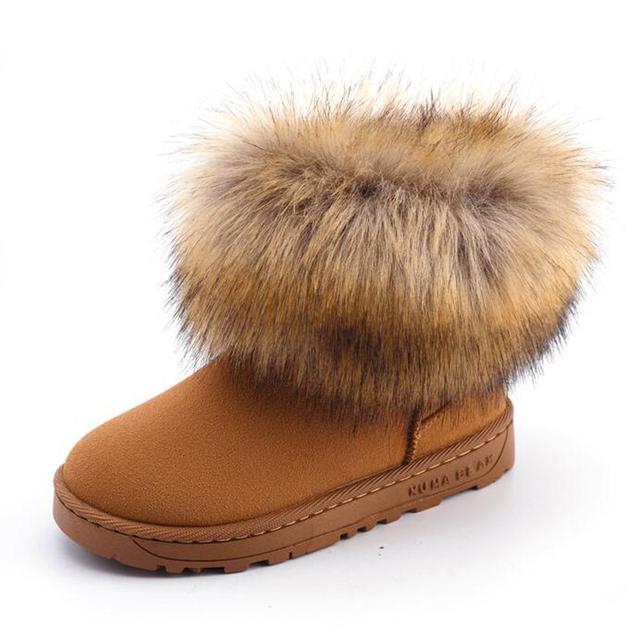 Niñas Niños Niños Australia botas ugs niños zapatos de invierno botas de Nieve caliente botas Para Chicas niños Calientes botas de piel Zapatos de Bebé de la Felpa