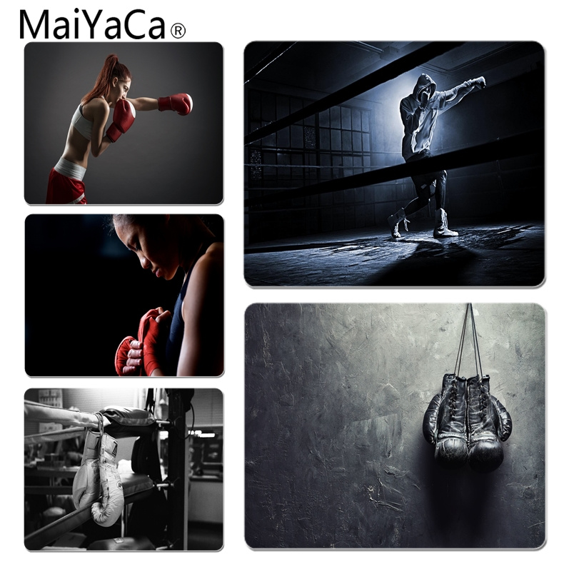 MaiYaCa Top Quality Boxing Office Mice Gamer Soft Mouse Pad Size For 180x220x2mm And 250x290x2mm Rubber Mousemats