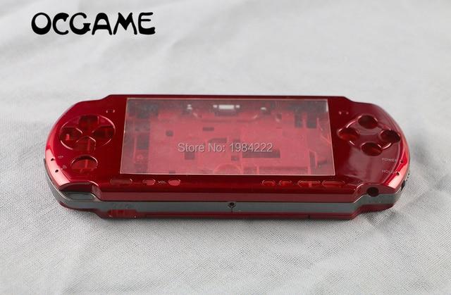 OCGAME For PSP3000 PSP 3000 Shell النسخة القديمة لعبة وحدة التحكم استبدال كامل الإسكان الغطاء مع أزرار عدة