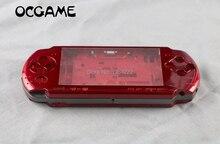 OCGAME PSP3000 PSP 3000 셸 이전 버전 게임 콘솔 교체 전체 하우징 커버 케이스 버튼 키트