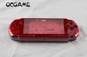 Image 1 - OCGAME için PSP3000 PSP 3000 kabuk eski sürümü oyun konsolu yedek tam konut kapak kılıf düğmeler kiti