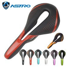 7 Colors ASTRO X20 MTB Mountain Bike Road Bicycle Cycling Parts Pain-Relief CR-MO Rail Microfiber Leather  Comfort Saddle Seat цена