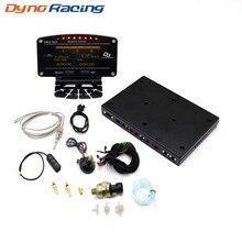 Dynoracing 10 en 1 nuevo estilo Auto Sports Digital Meter OLED Digital tacómetro Sensor completo Kit eléctrico coche medidor YC101196