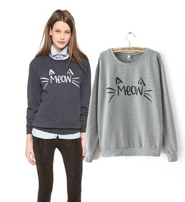 Aliexpress.com : Buy 2015 Fashion Hot Sale Meow Kitty Hoodies ...
