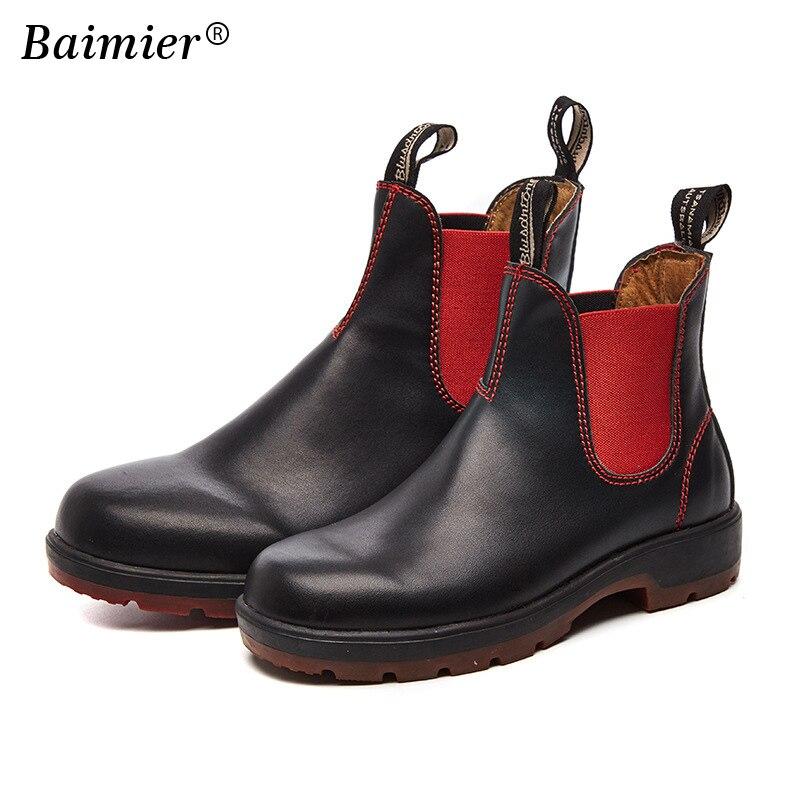 2018 automne bottes femmes en cuir chaussures pour hiver Martin bottes chaussures femme mode cuir Botas Mujer femme bottines