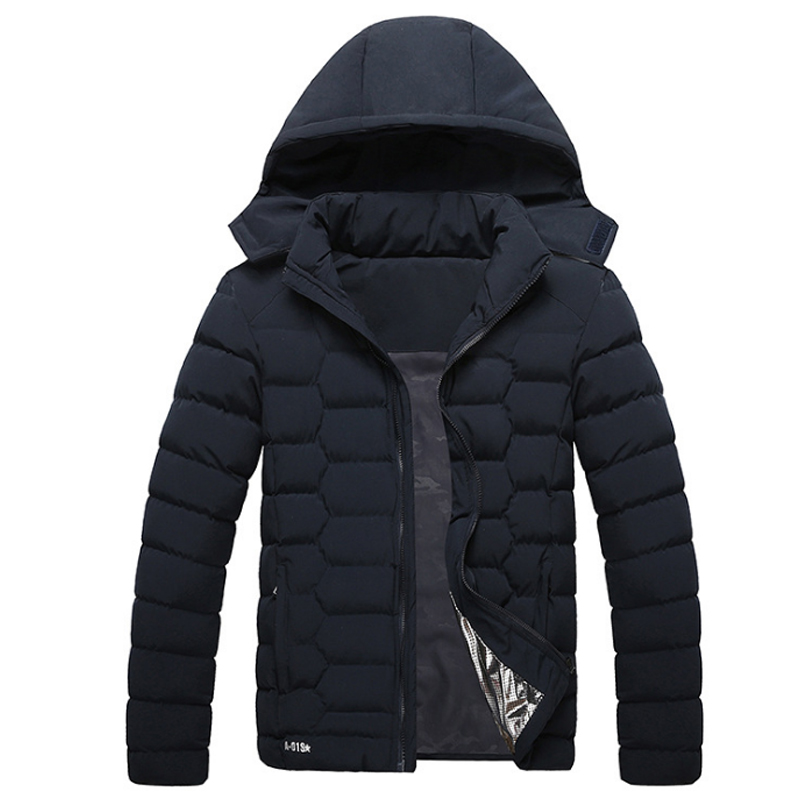 Winter Jackets Men New Fashion Warm Parka Outwear Windproof Thick Thermal Down Cotton Parkas Mens Hooded Detachable Coats men warm coats winter snow thick hooded slim fit down parka brand design casual cotton fashion padded outwear sl e437