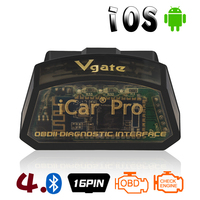 Vgate iCar Pro OBD II Bluetooth 4.0 ELM327 V2.1 Scanner Car Diagnostic Tool For Android/IOS Car Accessories