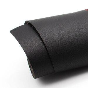 Image 4 - สำหรับToyota Corolla 2007 2008 2009 2010 2011 2012 2013 2 ชิ้น/เซ็ตประตูรถแผงแขนหนังไมโครไฟเบอร์